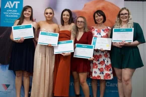 Vet Nursing and Animal Studies Graduates 2018