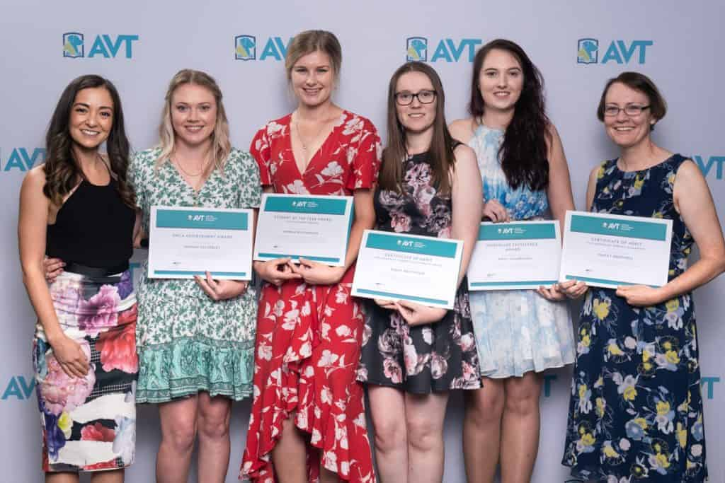 AVT Veterinary Nursing Student Award Winners 2019